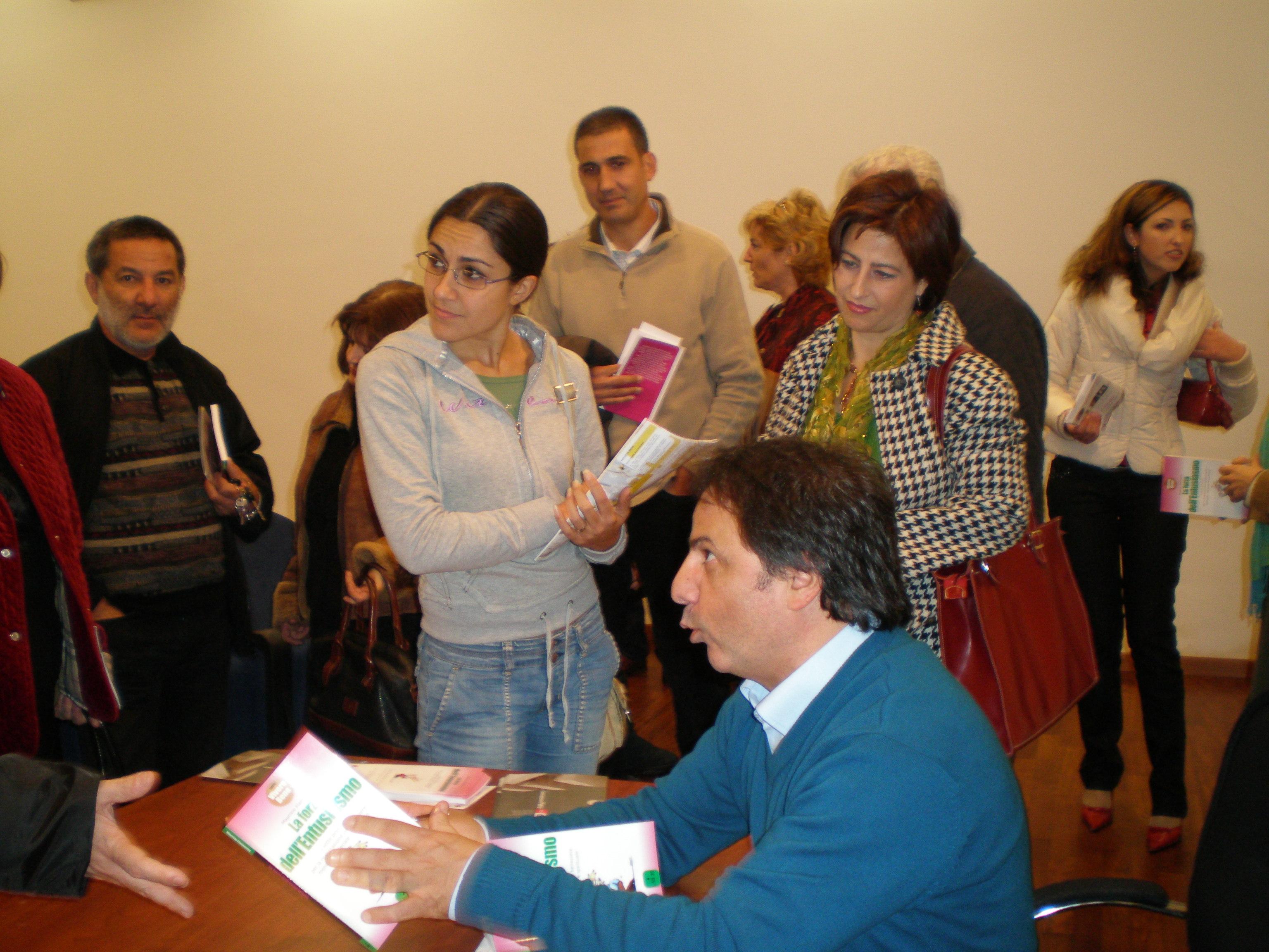 Maurizio Fiammetta libro La Forza dell'Entusiasmo
