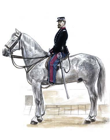 2_1860-1863_Colonnello_Comandante_di_Nizza_Cavalleria